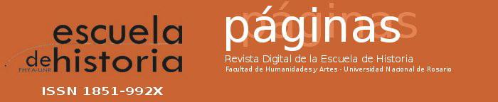 Revista Páginas de la Escuela de Historia UNR